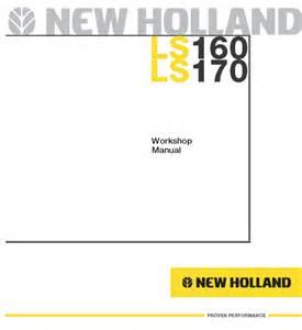 new ls160 ls170 skid steer loader service manual repair manual order