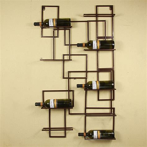 wall mounted bar cabinets for home 24 44 quot black bronze select wall mounted 9 bottle holder