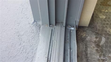 sliding glass patio door repairs track  roller repair