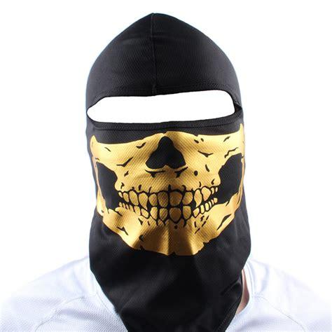 Balaclava Gurun Gold 1 Free Shipping Gold Mask Balaclava Ghost