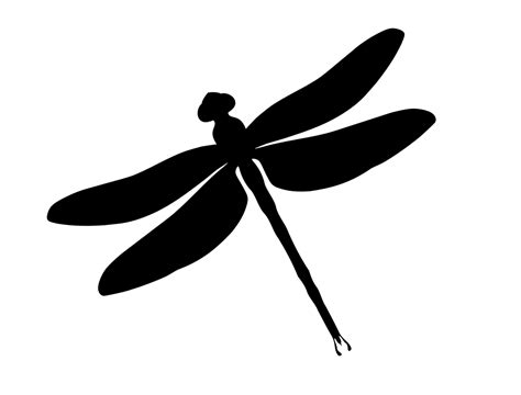 dragonfly clipart dragonfly silhouette vector clipart illustrations