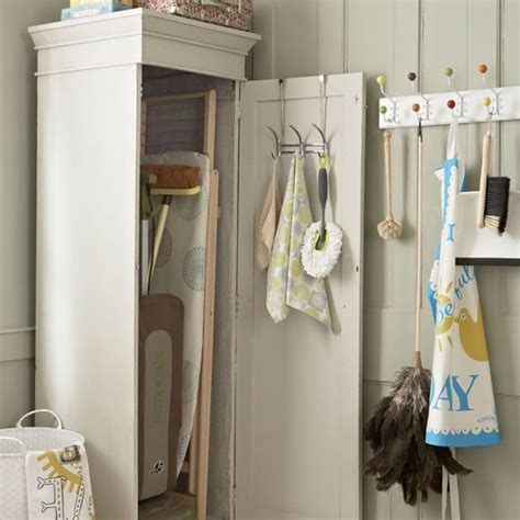 Utility Closet Storage by Utility Rooms Kitchen Sourcebook