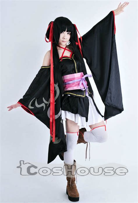 Yaya Dakimakura Machine Doll Wa Kizutsukanai unbreakable machine doll yaya kimono black costume dress xs xxl ebay