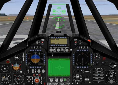 JustFlight - F-117A Stealth Fighter - PC Aviator Australia F 117 Stealth Fighter Cockpit