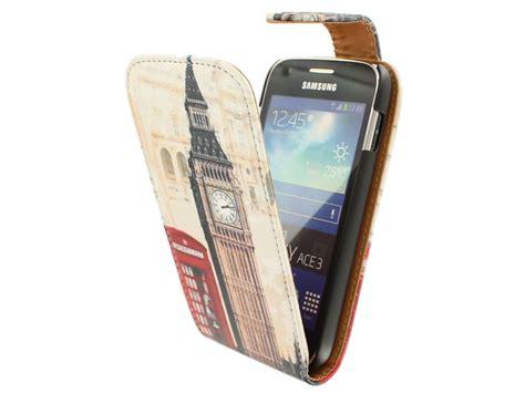Dus Box Samsung Ace 3 retro flip hoesje voor samsung galaxy ace 3