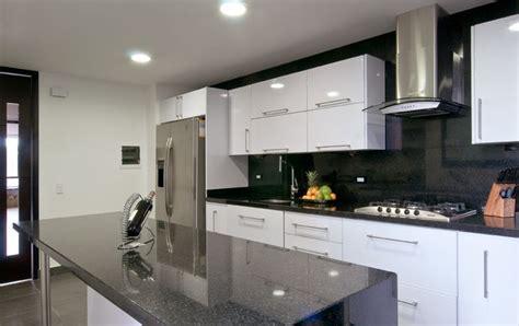 cocina contemporanea gris blanco kitchen pinterest
