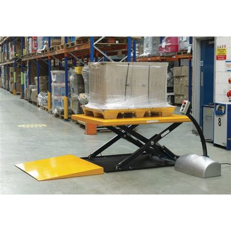 low built lifting table 1000kg lift tables lift