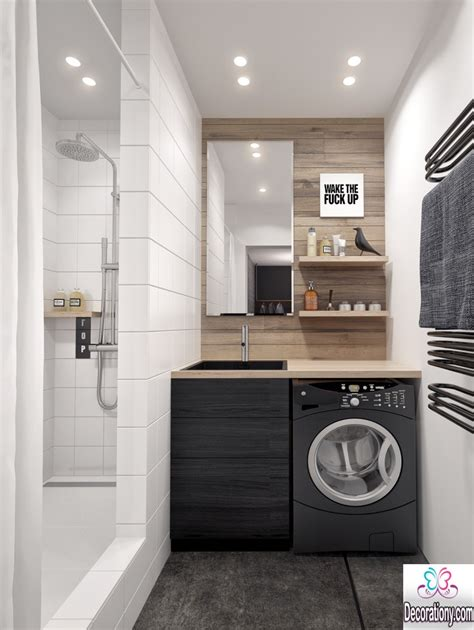 small space interior design ideas ultra modern laundry room ideas for a small space