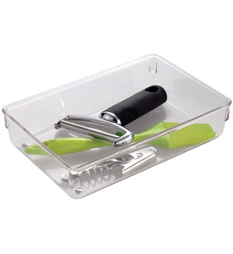 Plastic Drawer Organizer Bins by Clear Plastic Drawer Organizer In Drawer Bins