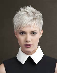 haircut for white a short white hairstyle from the art ego collection by