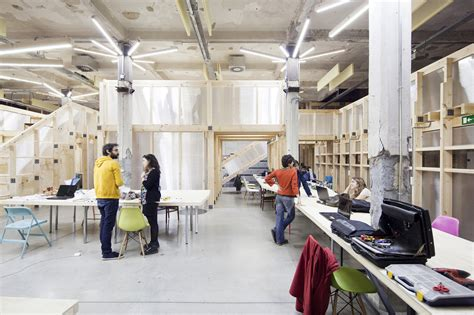how to use spaces factor 237 a cultural in matadero madrid office for