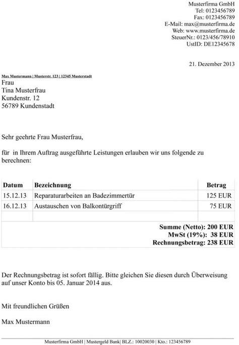Muster Rechnung Psychotherapie Privatrechnung Ohne Mwst Vorlage Muster Privatrechnung Privatrechnung Vorlage