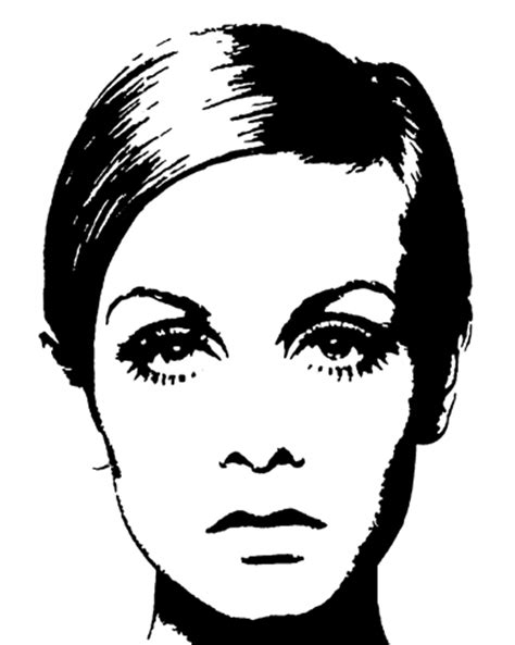twiggy black and white vintage indie child twiggy 60 s mod