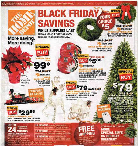 home depot black friday 2016 deals