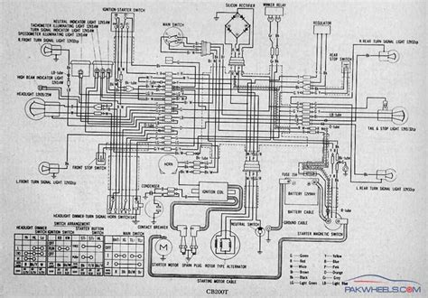 wiring diagram of honda motorcycle cd 70 40 wiring