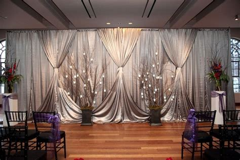 wedding ceremony draping 17 best ideas about pipe and drape on pinterest simple