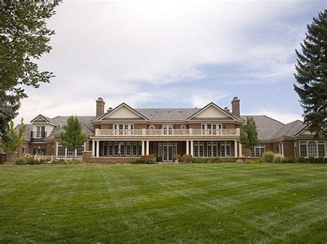 peyton manning s house a look inside peyton manning s denver house mountain living july 2012