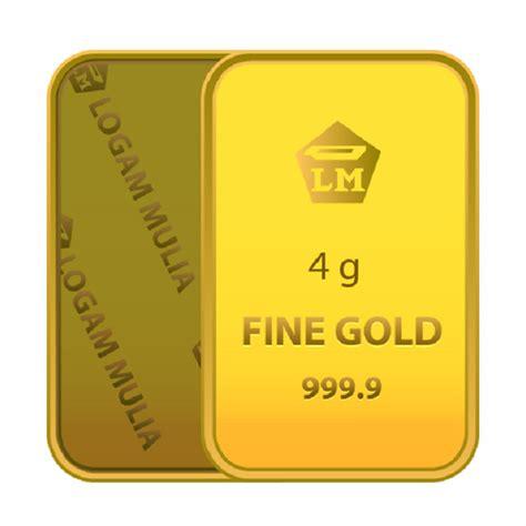Emas Logam Mulia Antam 4 Gram jual emas 4 gram logam mulia 999 9 sertifikat antam