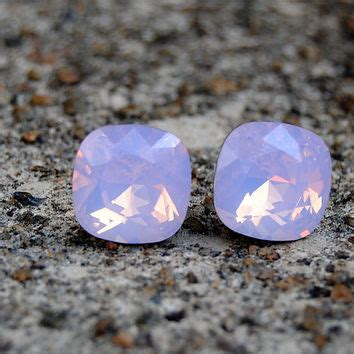 Kalung Korea Pink Geometry Square best square opal earrings products on wanelo