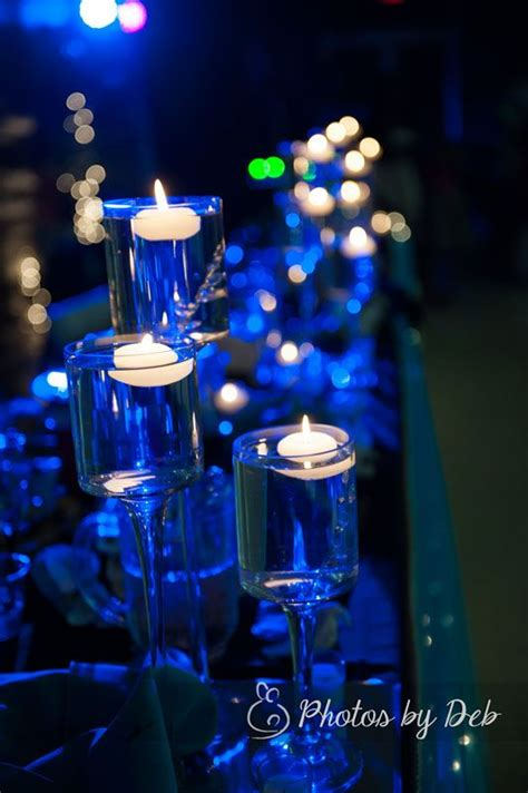 blue candle lighting 297 best images about candle wedding centerpieces on