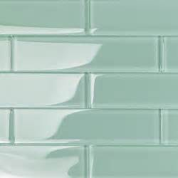 shop for loft adriatic mist 2x8 polished glass tiles at
