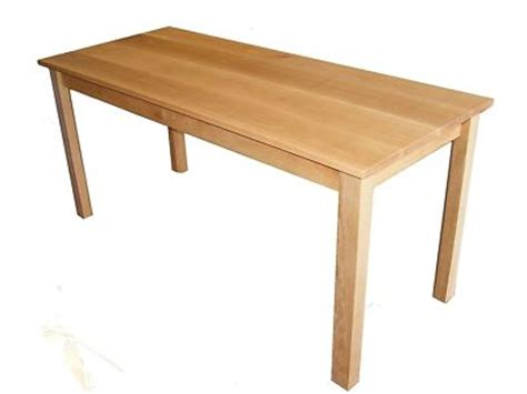 Handmade Oak Dining Table - solid handmade oak dining table