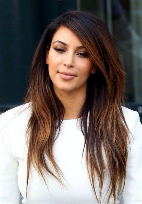 summer haircuts for long straight hair kim kardashian long hairstyles ombre hairstyles for