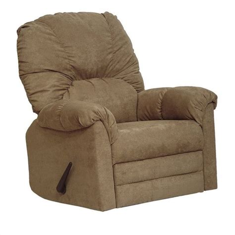 Large Rocker Recliner by Catnapper Winner Oversized Rocker Recliner Chair In Mocha