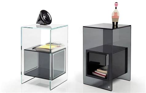 Minimalist Side Table | minimalist transparent glass side table digsdigs