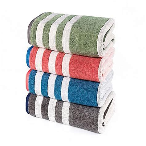 riviera bathrooms riviera stripe bath towel collection bed bath beyond