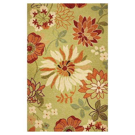 flower power rug kas rugs flower power pistachio 7 ft 6 in x 9 ft 6 in area rug mei251176x96 the home depot