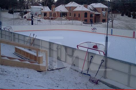 backyard ice rink forum show off your backyard rink goalie store bulletin board