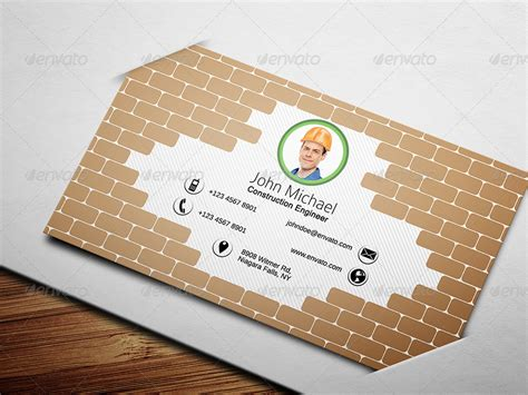 civil engineer business card template civil engineer business card 1 by ethanfx graphicriver