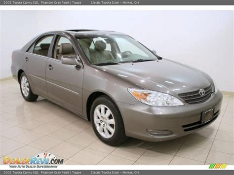 2002 Toyota Camry Xle 2002 Toyota Camry Xle Phantom Gray Pearl Taupe Photo 1