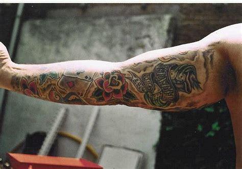 tattoo old school full arm old school full sleeve by wildthingstattoo on deviantart
