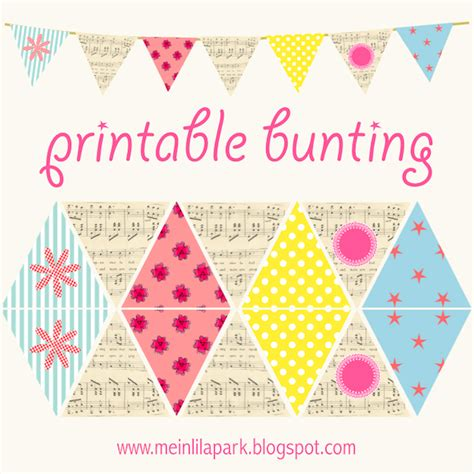 5 best images of free printable paper bunting free