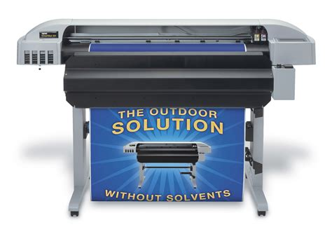 printable vinyl printer entering into outdoor eco solvent printing
