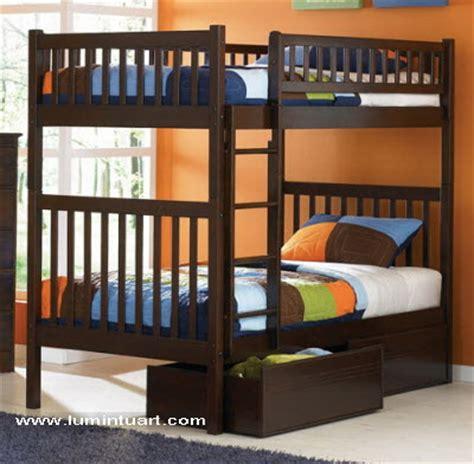 Dipan Susun Kayu Jati dipan ranjang tempat tidur tingkat susun kayu jati jepara