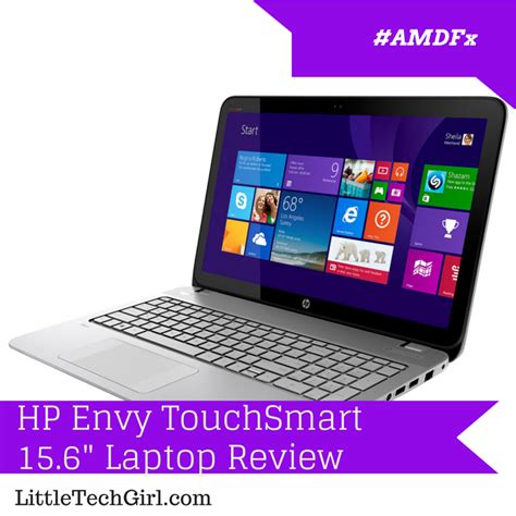"HP Envy TouchSmart 15.6"" Laptop Review"