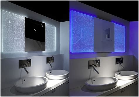 illuminated bathroom mirror for stylish interior best interior design house