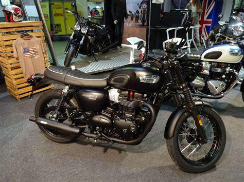 Triumph Motorrad Luxembourg triumph bonneville t 100 black auf der international motor