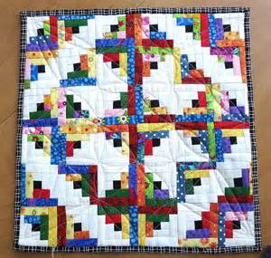 log cabin pattern quilting