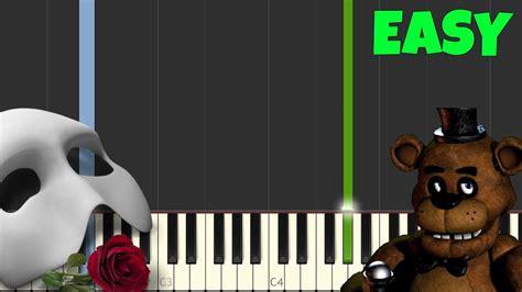 piano tutorial phantom of the opera the phantom of the opera easy piano tutorial synthesia