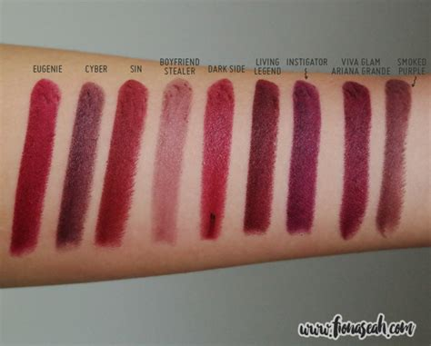 Mac Viva Glam review mac viva glam grande lipstick fionaseah