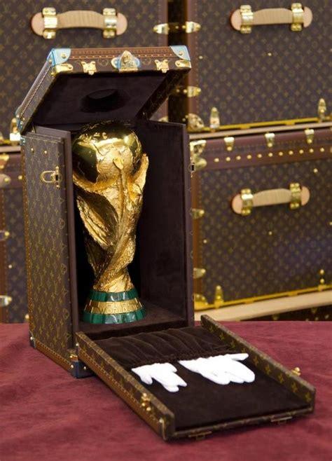 Louis Vuitton Louis Vuitton World Cup Designer Handbags And Information by Louis Vuitton Unveils World Cup Trophy Trunk