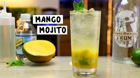 mango mojito mango mojito tipsy bartender