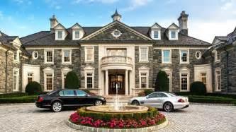 Custom Car Interior Nyc Stone Mansion In Alpine N J For Sale At 49 Million