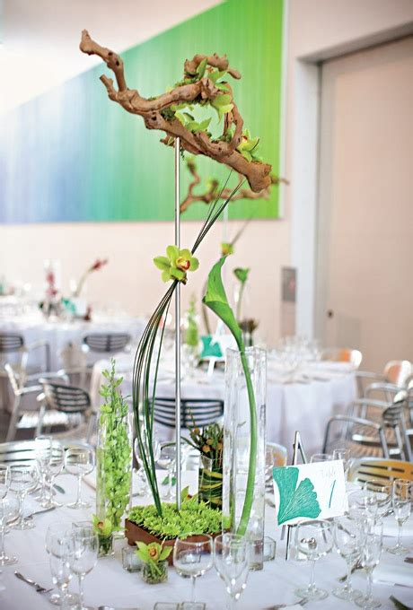 wedding centerpieces non flowers wedding centerpiece ideas that don t use flowers