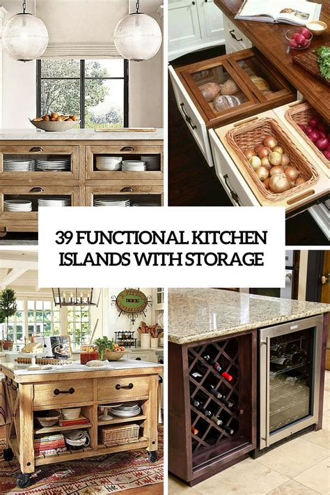kitchen island storage design 306 the coolest kitchen designs of 2016 digsdigs