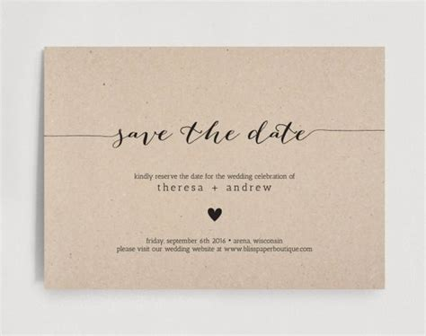 Save The Date Invitation Wedding Rehearsal Editable Template Rustic Pdf Instant Download Save The Date Template Free